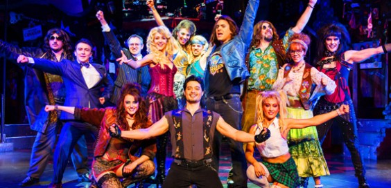 The Rock of Ages Cast